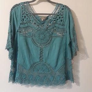 Democracy Lace Top